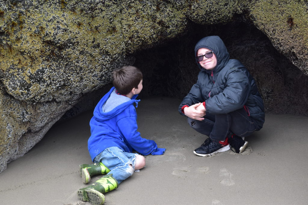 Tidepool Oregon Beach