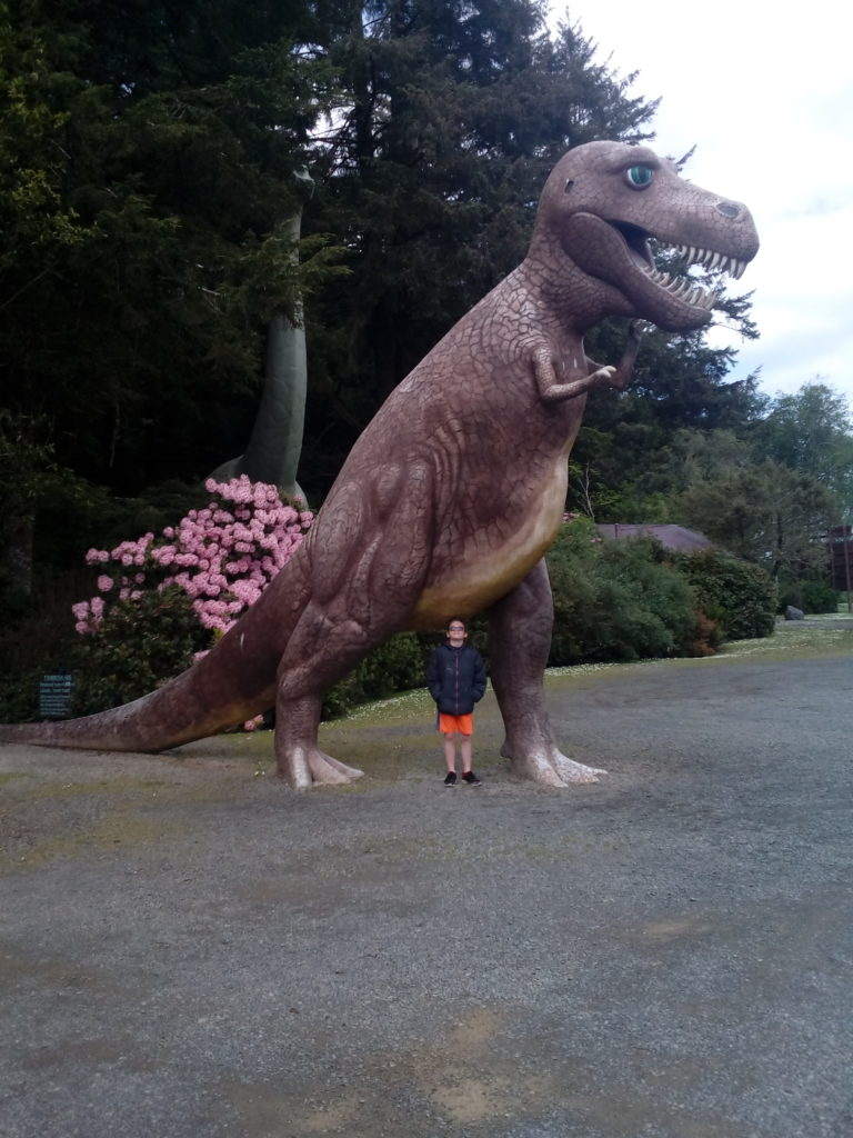 Oregon Coast To Redwoods Trip Pre-historic Dinosaur