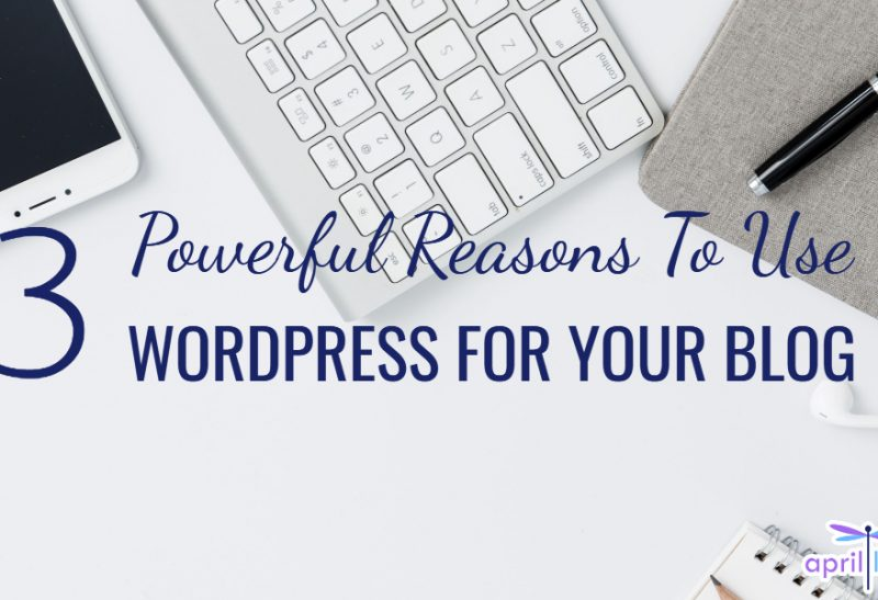3 Powerful Reasons To Use WordPress For Your Blog