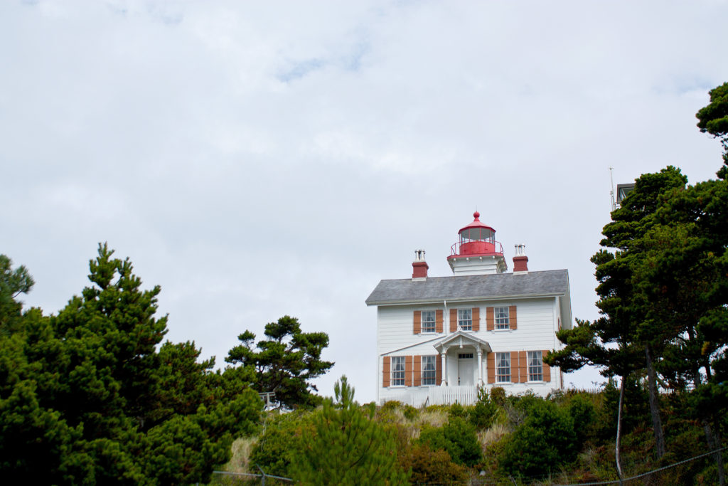 Yaquina Bay Lighthouse Newport Oregon