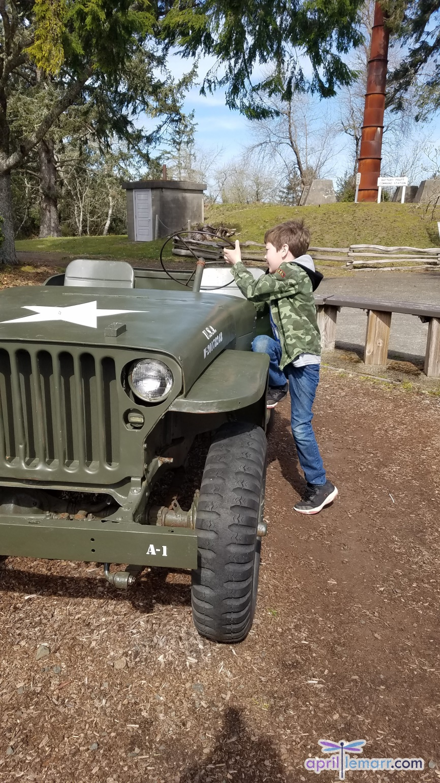 Military Jeep Fort Stevens Oregon Adventures